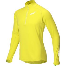 inov-8 Technical Mid Camiseta Manga Larga Cremallera Completa Hombre, yellow